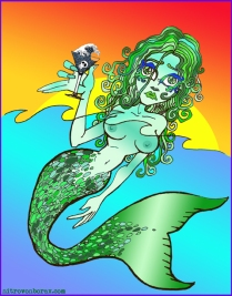 Tsartini mermaid