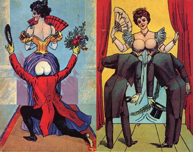 novelty postcards