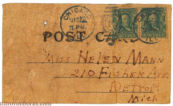PostcardSMILEaddressside
