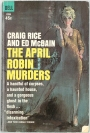 Today's Pulp Purchase: The April Robin Murders