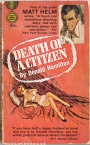 Today's Pulp Purchase: Death of a Citizen