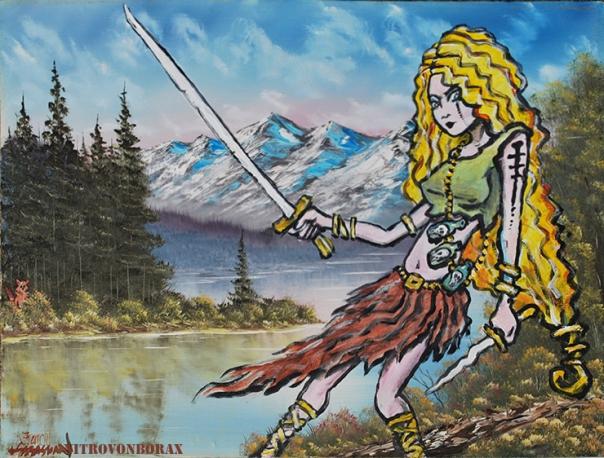 VikingGirlAdded toLandscapeAgain